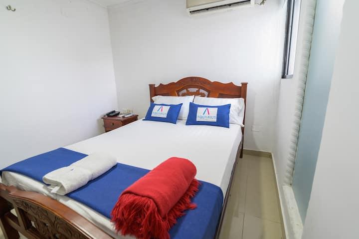 Habitacion doble economica- Hotel Aquarius