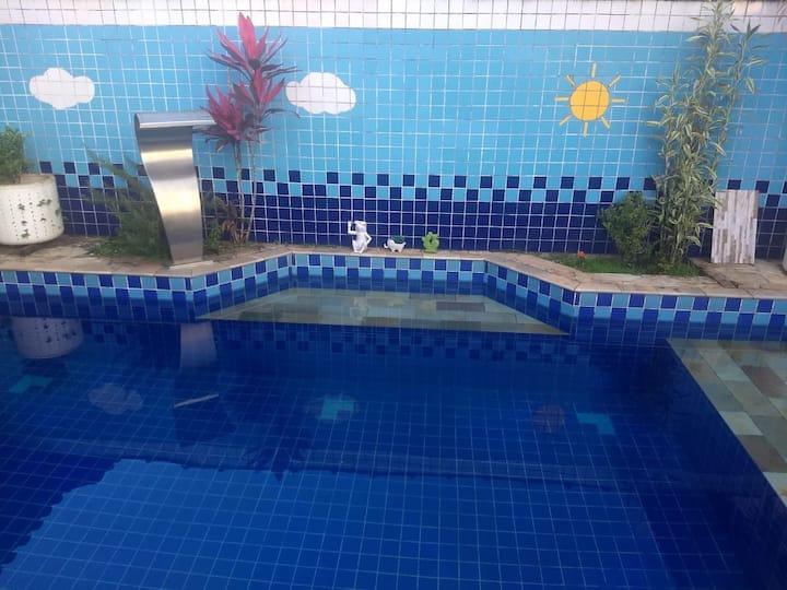 Sobrado com piscina