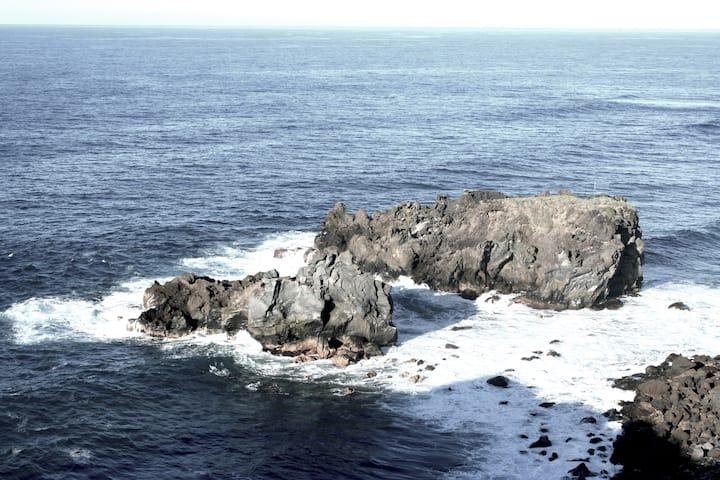 Casa La Laja (slow living), sosiego frente al mar
