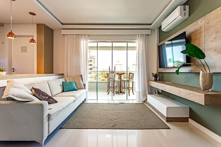 Apartamento novo na Praia de Palmas