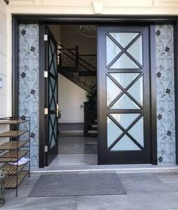No starts to enter house