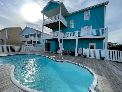Porpoise Pad - 5 BR Oceanview Home with Pool