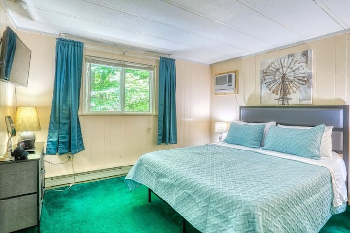 Master Bedroom with AC and TV