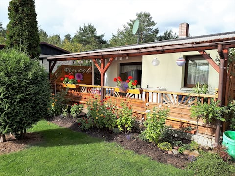 Holiday home in Unterspreewald, quiet, with garden