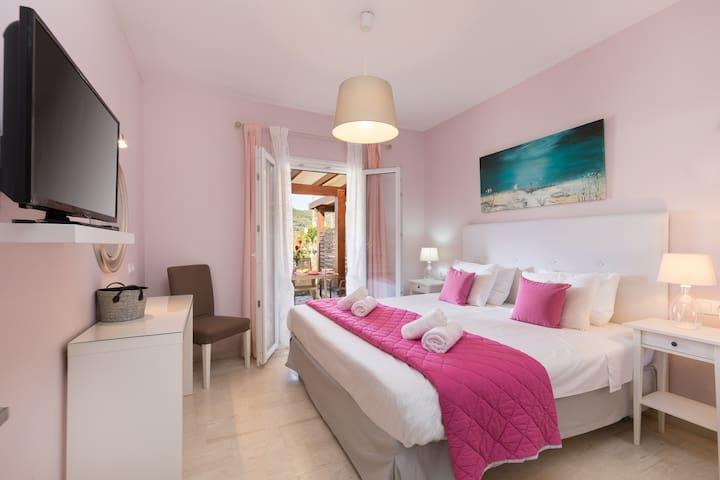 Anemone Apartment Agios Stefanos Corfu- bedroom