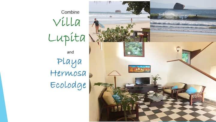 Villa Lupita, en área segura, cerca  de playas
