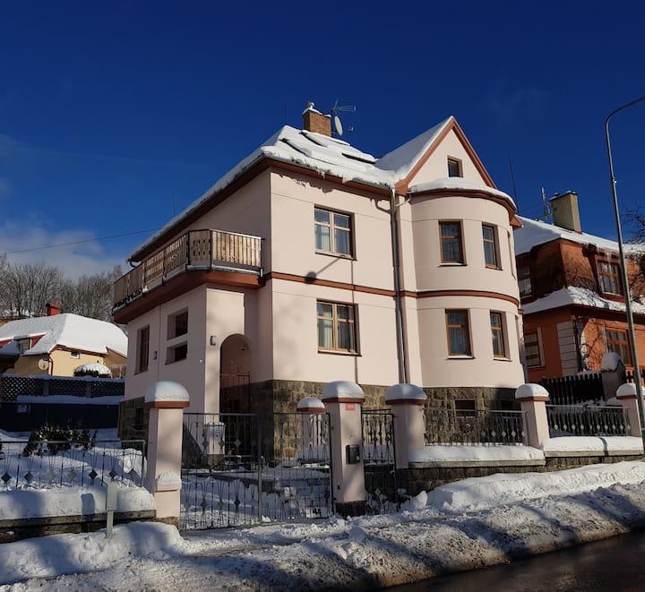 Krušné hory-Ferienhaus-Prázdninový dům 10osob/pers