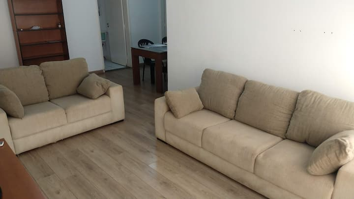 Apartamento completo para até 9 pessoas