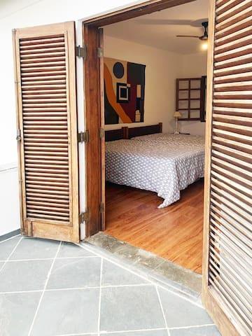 suite master vista da varanda