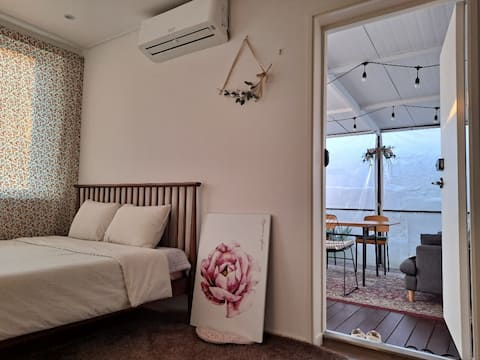 스테이1978-느린장흥 조용하고 평온한 휴식, 넓은 전용데크가 있는 2인실