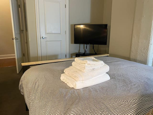 TV in the second bedroom