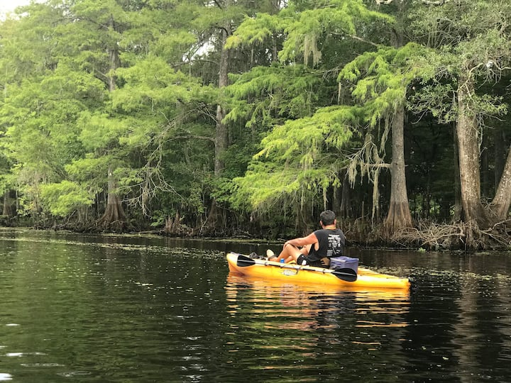 The Withlacoochee River Guesthouse