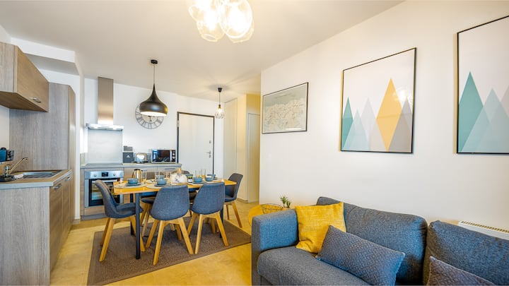 Apartment for 4 pp - 2 bedrooms, modern