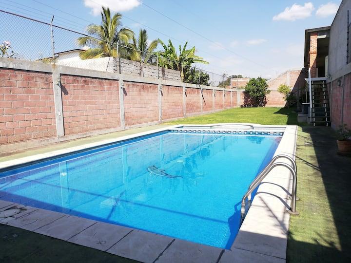 """Rest house """"Los arcos"""" Cuautla, Mor"""