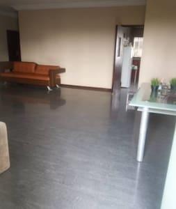 Wide open hallway space