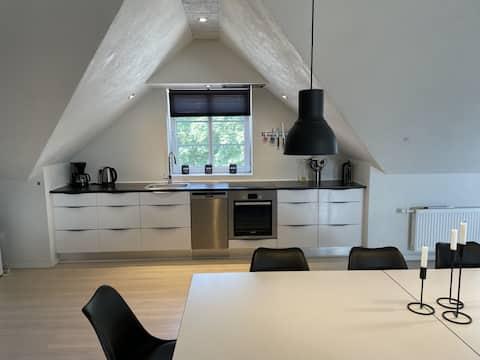 Nyrenoveret lejlighed, tæt på Rømø, Ribe & Tønder.