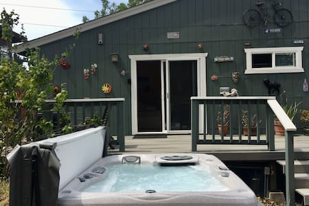 Beach Bungalow with Jacuzzi | Forest View| Near SF