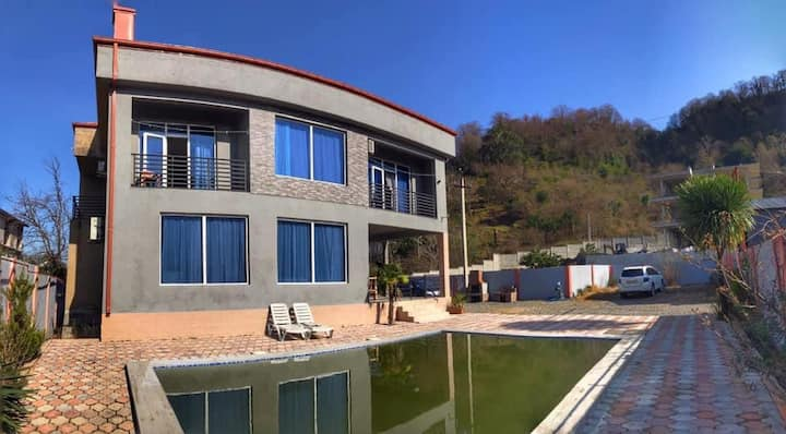 Rent house in gonio, 300m from sea,13 person place