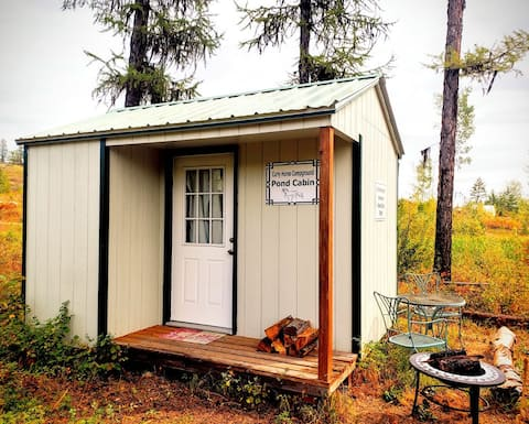 Curly Horse Campground: Hunter's Cabin