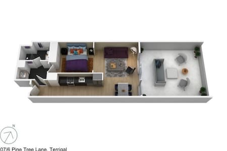 This is a floor plan of the unit