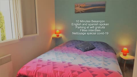 1 bedroom with private bathroom Montfaucon