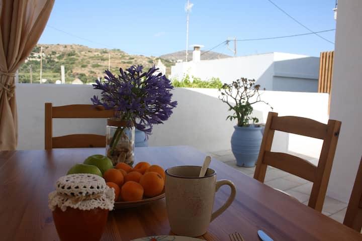 Nikoletta's Nest traditional house/large veranda