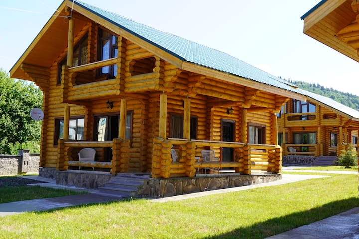 Log House Villa #6