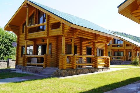 Log House Villa #8