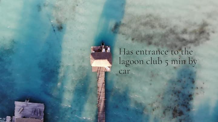 Habitación Ramona+ club Laguna access+ wifi