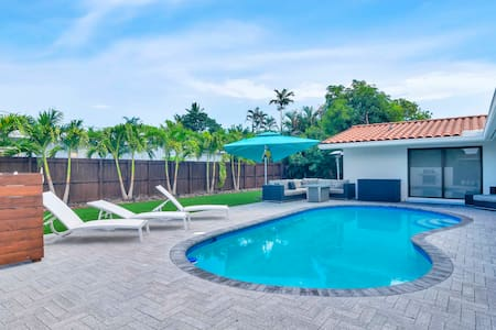 Completely Renovated Miami House with amazing Pool