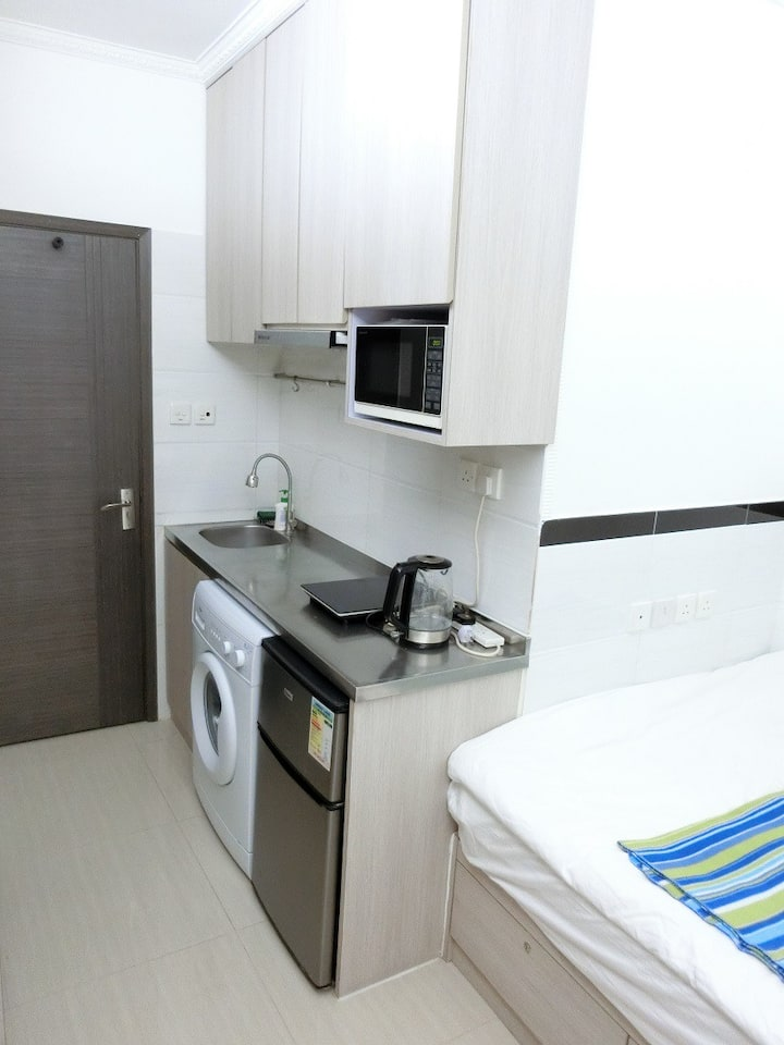 Renovated Studio Close Olympic & Mongkok MTRs