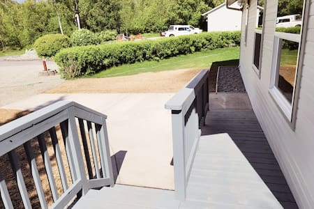 new ramp and stairs