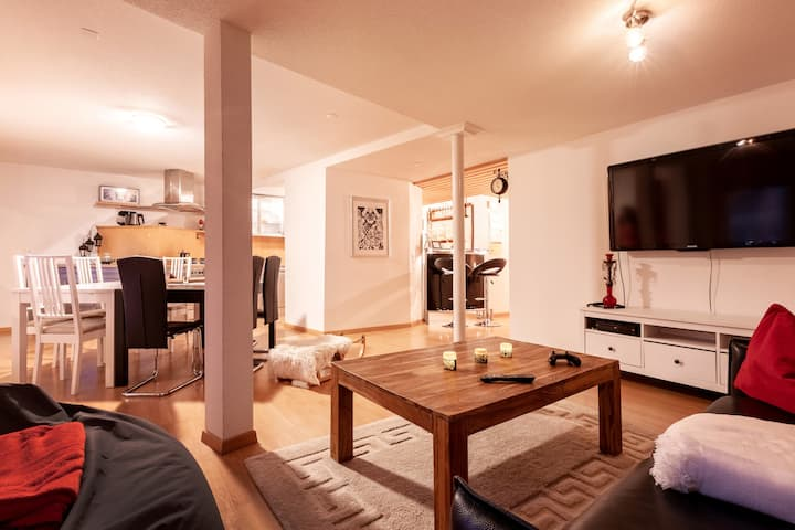 Stylish 100m2 Apartment in the heart of Arosa <3