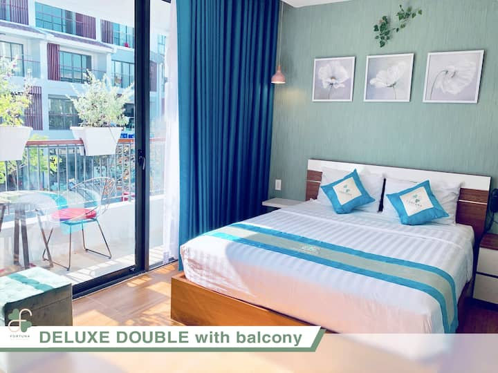 Fortuna Hotel - Deluxe Double Room With Balcony