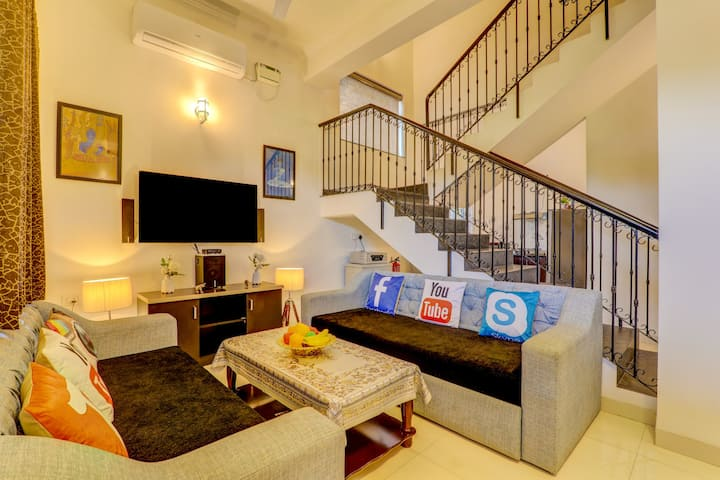 Ludo Villa |Pool-Wifi-Caretaker-Parking| North Goa