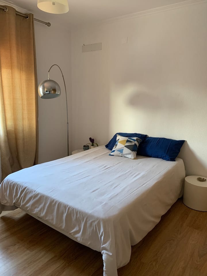 Double/triple room with private bath and kitchen