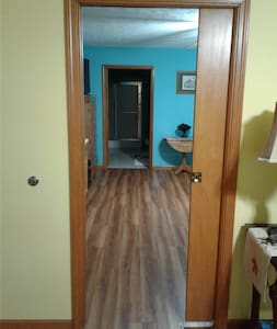 All interior doors are wheelchair accessible.
