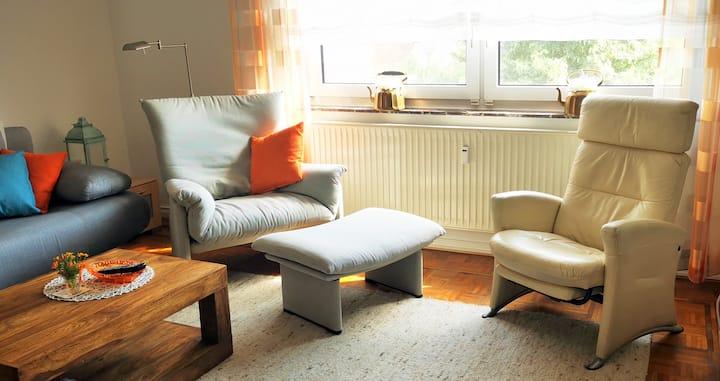 Ferienwohnung zentral in Weyhe-City/Kirchweyhe