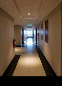 Guest entrance is wide and flat