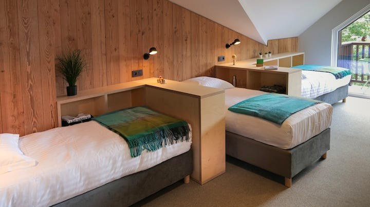 Family suite up to 5 - view Mont-Blanc