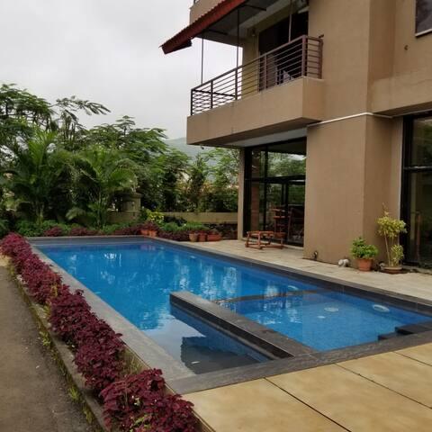 Kesar Villa 2 - Large Private Pool And Garden