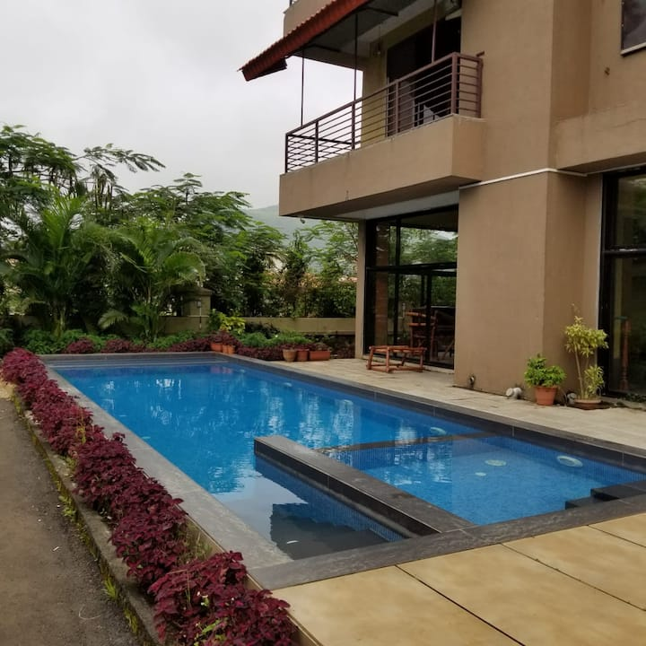 Kesar Villa 2 - Large Private Pool And Garden