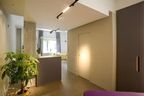 Loft exclusivo de Salerno Centro - Luces de artista