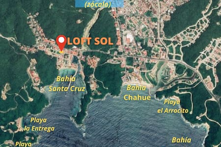 "SOL Loft ""Huatulco""  Excellent prices and location"