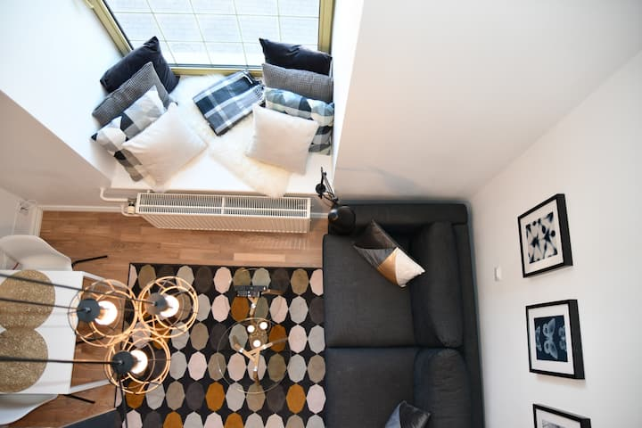 Luxury Loft apartment - 5 min walk from Old Town