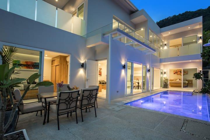 推出泳池别墅Villa Skylight- 惊艳的现代风
