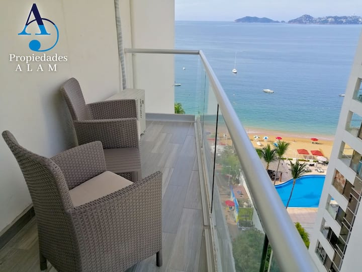 Bella suite c/vista al mar, piscina&acceso playa10