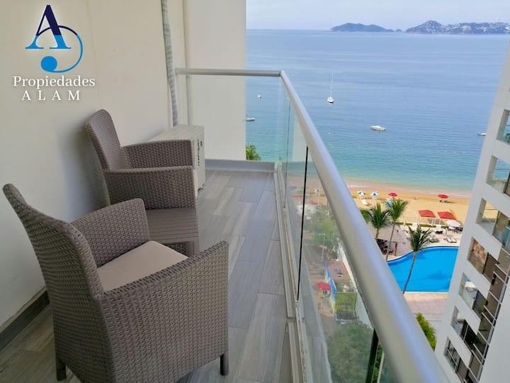Bella suite c/vista al mar, piscina&acceso playa10