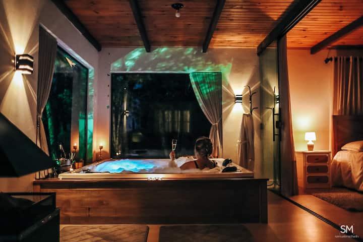 Casa na Serra Hidro Lareira Natureza e Privacidade