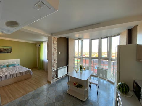 Квартира в Центре Оренбурга с видом на город!